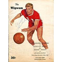 Buy Wilt Chamberlain Autographed The Wigwam Program (JSA) - Autographed NBA Magazines by Sports Memorabilia