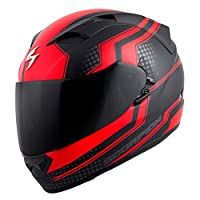 Scorpion EXO-T1200 Alias Street Motorcycle Helmet (Red, XX-Large) from Scorpion