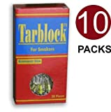 Tarblock Cigarette Filters For Smokers 10 Packs