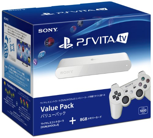PlayStation Vita TV Value Pack (VTE-1000AA01) (Japan Imported)