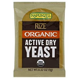 Rapunzel Yeast, Rize Active Dry, .32-Ounce (Pack of 40)