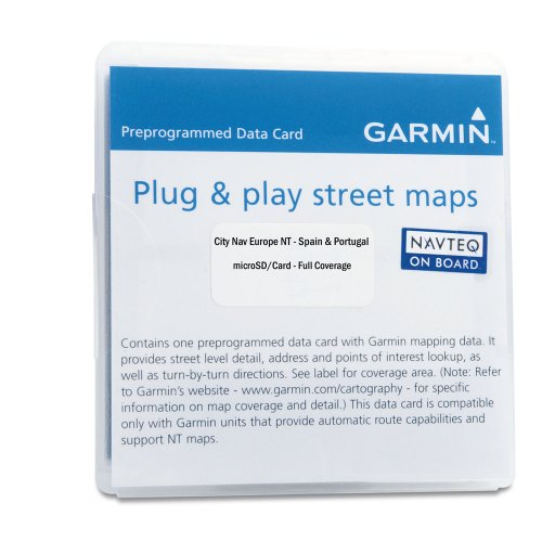 Garmin City Navigator 2010 Spain/Portugal microSD Card
