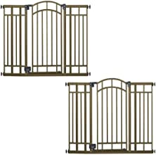 Summer Infant Extra Tall Decorative Walk-Thru Gate 2 Gate Value Pack