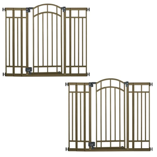 Summer Infant Extra Tall Decorative Walk-Thru Gate, 2 Gate Value Pack - 1