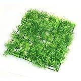 "9.1"" x 9.1"" Green Square Artificial Grass Lawn for Fish Tank"
