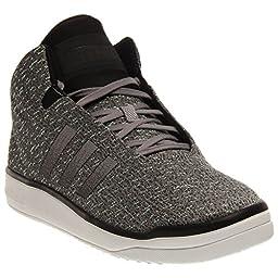 Adidas Veritas Mid Weave Men\'s Sneakers Size US 11, Regular Width, Color Gray/Black/Green
