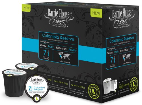 Barrie House Colombia Reserve Coffee Capsules (48 capsules)
