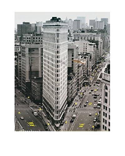 ArtopWeb Pannello Decorativo Flat Iron Building