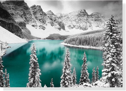 Lake Moraine Large Boxed Holiday Cards (Christmas Cards, Holiday Cards, Greeting Cards)