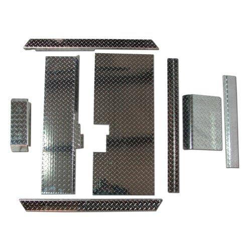 Club Car Golf Cart Diamond Plate Accessory Kit w/ Floor