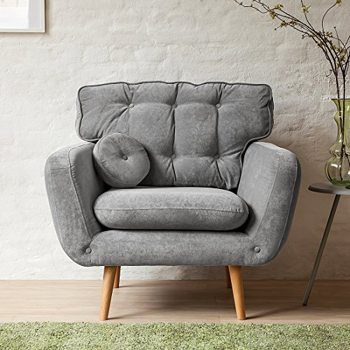 Sessel Grau Textilvon Mørteens Auf Halbehalbede