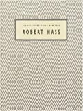 READINGS IN CONTEMPORARY POETRY NUMBER 6: ROBERT HASS - SPRING DRAWING