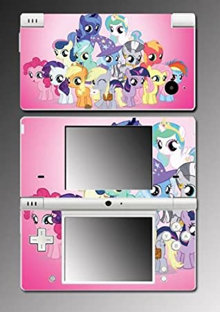 My Little Pony MLP Friendship is Magic Fluttershy Twilight Sparkle Rarity Video Game Vinyl Decal Cover Skin Protector #2 for Nintendo DSi