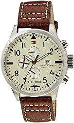 Tommy Hilfiger Thw Spring 1 Analog off white dial Mens Watch - TH1790684