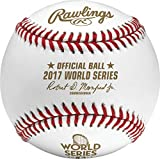 Rawlings Official 2017 World Series Leather MLB Baseball - WSBB17