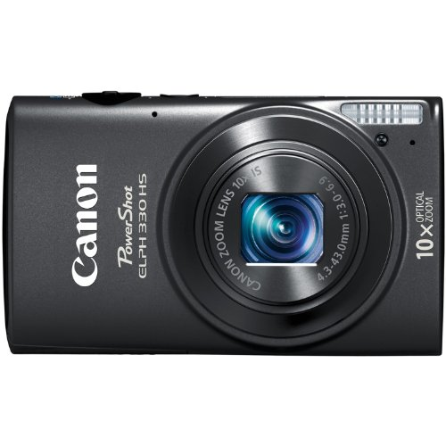 Canon PowerShot ELPH 330 12.1MP Digital Camera