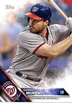 2016 Topps Team Edition #WN-5 Daniel Murphy Washington Nationals Baseball Card-MINT