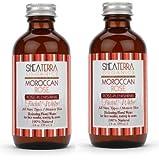 Shea terra Moraccan Rose Facial Water- 4 oz- 2 Pack