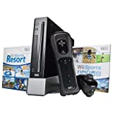 Black Wii Console with Wii Sports, Wii Sports Resort and Wii Remote Plusby Nintendo