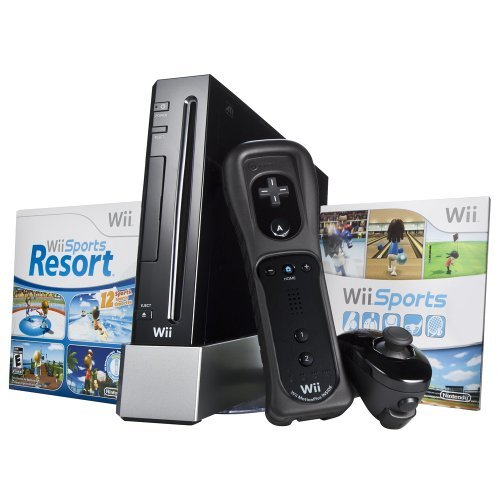 Wii Hardware Bundle – Black
