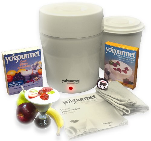 Great Features Of Yogourmet Multi Electric Yogurt Maker with Yogurt and CBA Starter