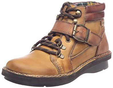Pikolinos Cantabria, Chaussures montantes femme - Cognac, 36 EU