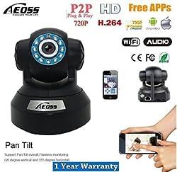 Aeoss IP Camera Pan-Tilt security camera Onvif P2P HD IR CCTV 720P With TF Card Slot Wi-Fi