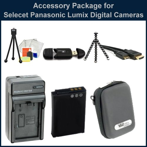 Sunset Accessory Package for Panasonic Lumix DMC-ZS7/DMC-ZS10/DMC-ZS8/DMC-ZS9 Digital Cameras