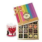 Valentine Chocholik Belgium Chocolates - Impressive Truffles Treat With Love Mug