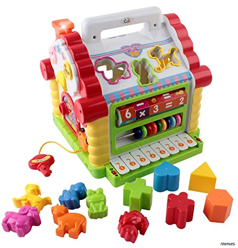 Memtes-Musical-Activity-Cube-Educational-Play-Center-Toy-Shape-Sorter-Toy-with-Tons-of-Functions-Skills
