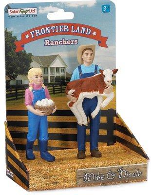 Safari 821029 Mike & Nicole-on platform Miniature - 1