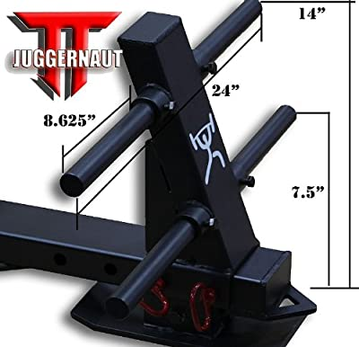 """The JUGGERNAUT"" CFF ""Pro Series Elite"" Heavy Duty Push/Pull Sled w/a 1650 lb Capacity & Adjustable Slide Arm - Great for cross training, MMA, Boxing"