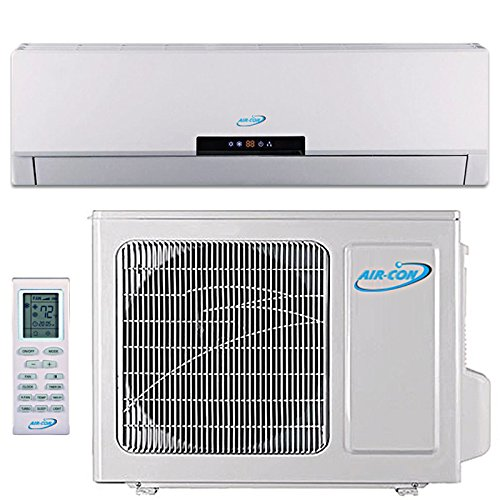 36000 Btu Ductless Mini Split DC Inverter Air Conditioner Heat Pump System 208-230 Volt with 25ft Line Set (36000 Btu) (36000 Btu Unit compare prices)