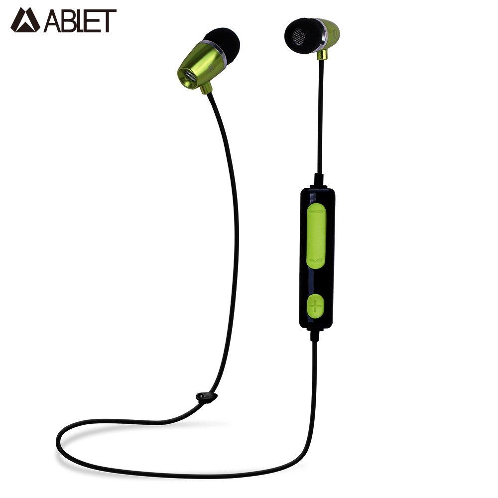 Ablet Green Bluetooth Sports Earphone