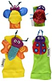 Tomy Lamaze Wrist Rattle and Foot Finder Set