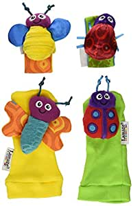 Tomy Lamaze Wrist Rattle and Foot Finder Set (Discontinued by Manufacturer)