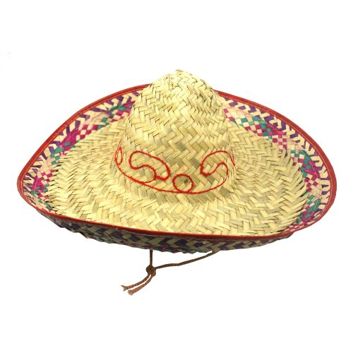 US Toy Adult Size Authentic Mexican Sombrero (Colors May Vary) - 1