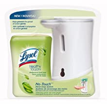 Lysol 67 8.5 Oz. Green Tea & Ginger Hand Soap System Cleansing (Case of 4)