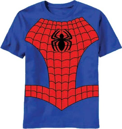 Spider-Man Costume Style Youth Child's Marvel T-Shirt