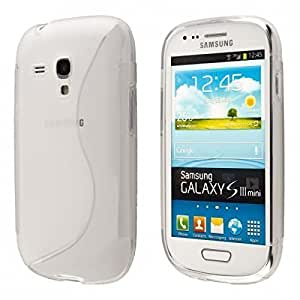 ECENCE Samsung Galaxy S3 mini i8190 i8200 Coque de protection housse case shell transparent 14020406