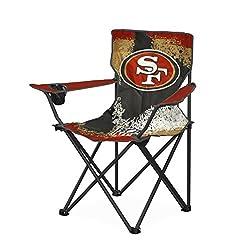 NFL San Francisco 49 s Tween Camp Chair