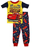 Disney Cars Lightning McQueen Little Boys Cotton Pajama Set