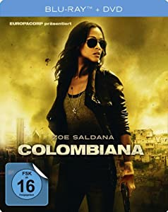 Colombiana - Steelbook  (+ DVD) [Blu-ray]