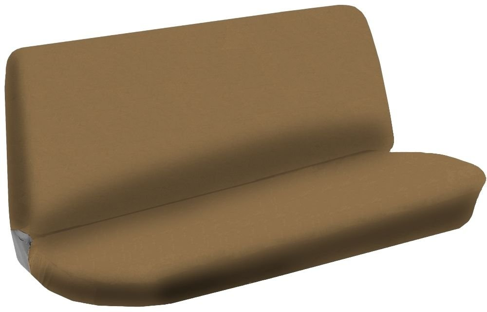 где купить Bench Seat Cover Flat Solid Tan Beige 2pc Cloth For Volkswagen VW Jetta по лучшей цене