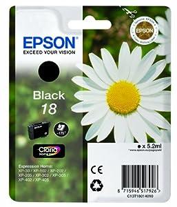Epson Pâquerette 18 T1801 Cartouche d'encre Noir