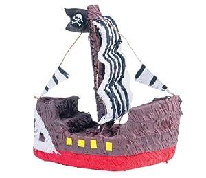 Pirate Ship Shaped 16in x 15 1/2in Pinata from Ya Otta Pinata