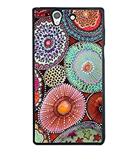 Fuson Premium 2D Back Case Cover Pattern With Multi Background Degined For Sony Xperia Z::Sony Xperia Z L36h