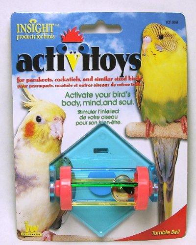 Image of JW Pet Insight Tumble Bell Bird Toy (B003THKF10)