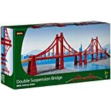 Brio - 33683 - Circuits de train en bois - Double pont suspendu