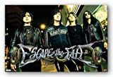 Escape The Fate - Red Light Art Print Poster